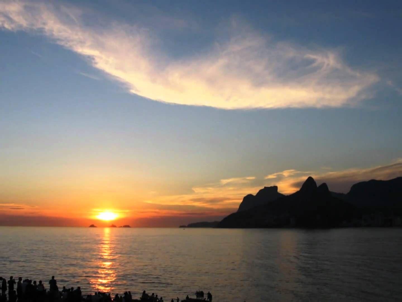 Rio de Janeiro - Pôr do Sol em Ipanema - Arpoador