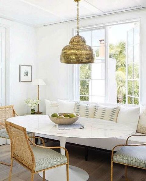 Banquette In Dining Room Dining Room Decor Dining Room