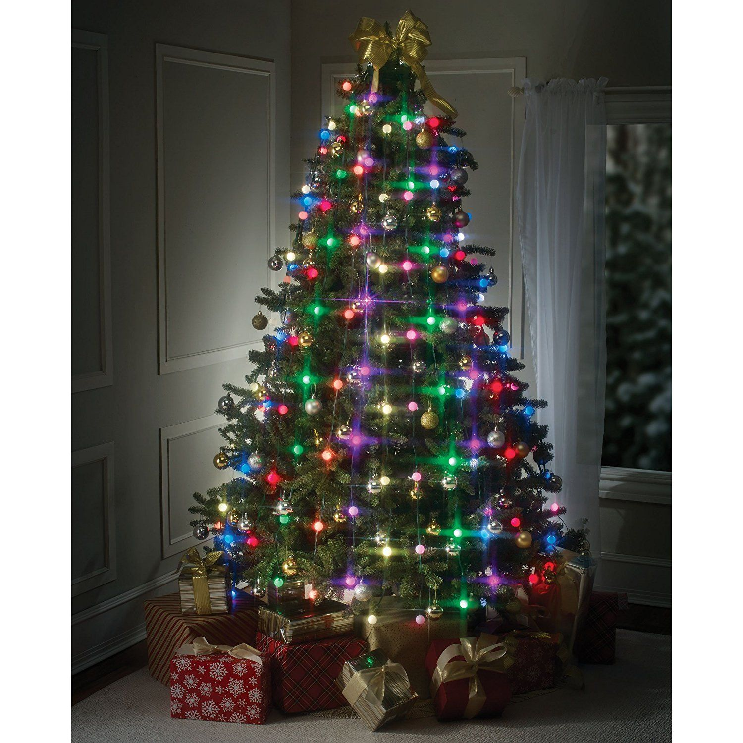 amazoncom tree dazzler easy setup led christmas lights and christmas light displays by bulbhead home kitchen - Amazon Led Christmas Lights