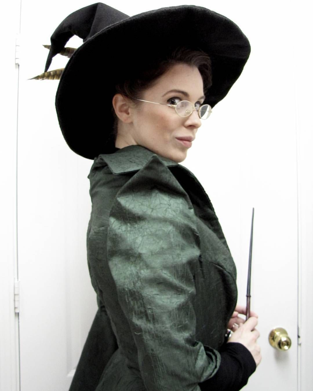Young Professor Mcgonagall Is All Ready To Head Out To The Yule Ball At Conjurationcon Yule Ball Teacher Costumes Wizard Costume