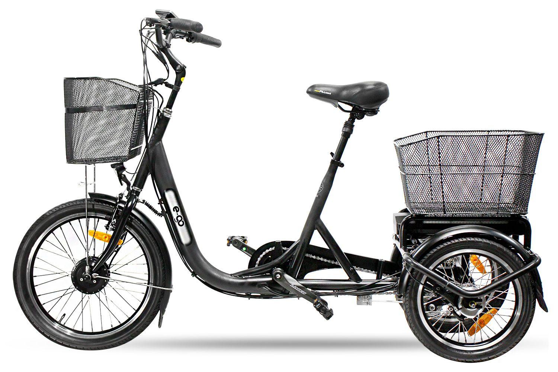 Ego E Bike Lastenrad Pedelec Trike Dreirad Transportfahrrad Mit Neigetechnik Dreirad Pedelec Fahrrad