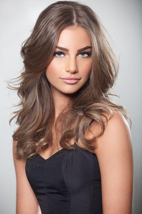 Dark blonde hair … Couleur cheveux, Cheveux et Coiffure