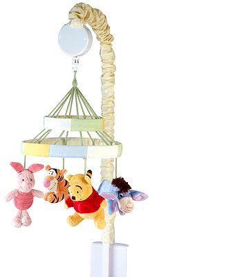 Disney Baby Peeking Pooh Musical Mobile Baby Disney Winnie The Pooh Nursery Elephant Baby Mobile