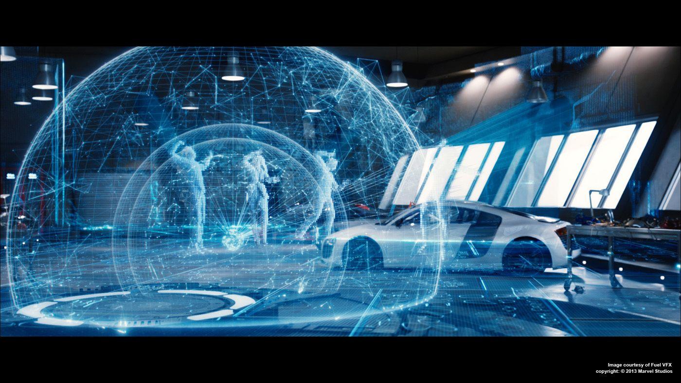 IRON MAN 3: Simon Maddison – VFX Supervisor – Fuel VFX ... Iron Man Holographic Computer