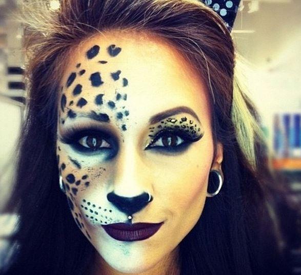 como hacer maquillaje de gato
