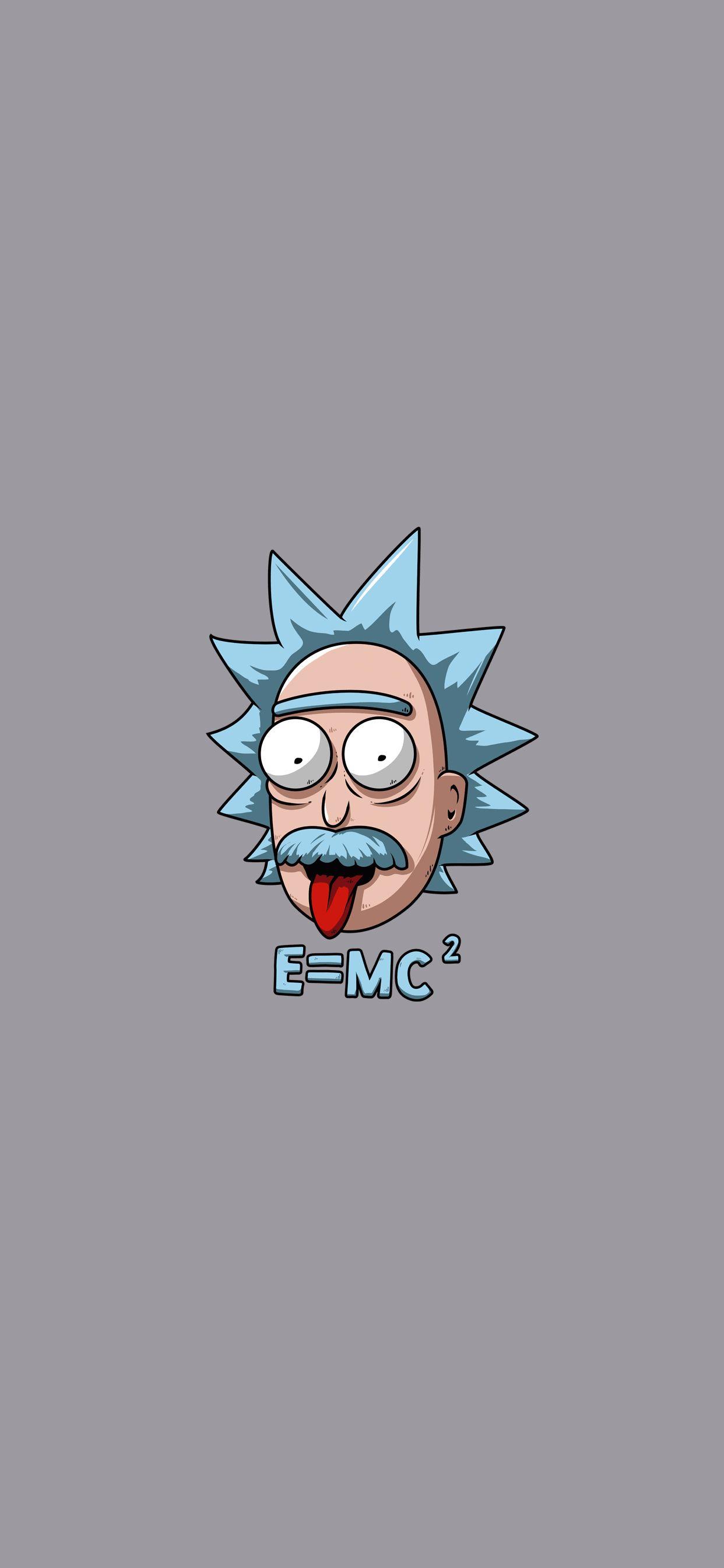 Rick Einstein for iPhone 11   Papel de parede psicodelico ...