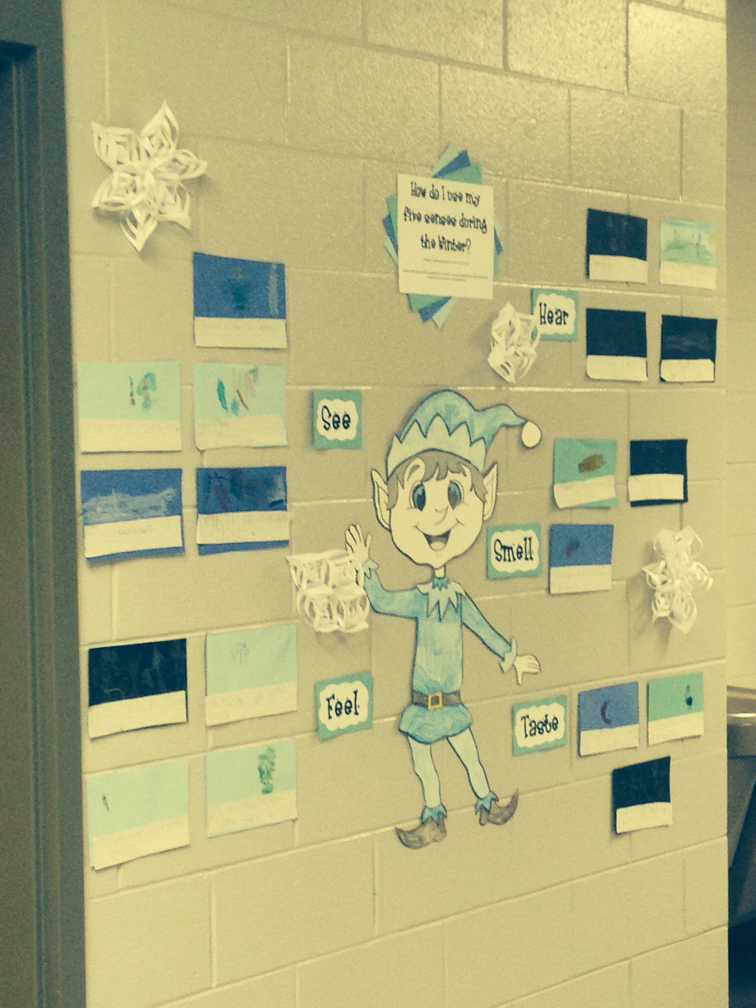 5 senses of Winter with Jack Frost Teaching crafts, Jack