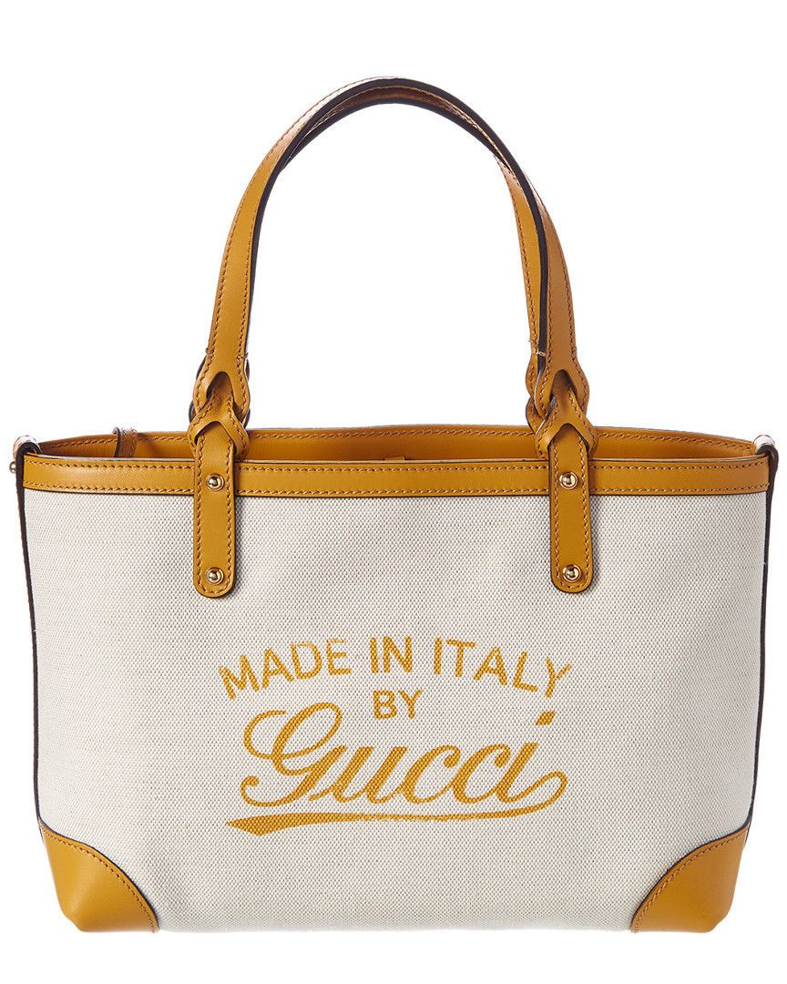 c10160ba62f7 Details about Auth GUCCI Diamante Lux 353397 Yellow Leather Tote Bag ...
