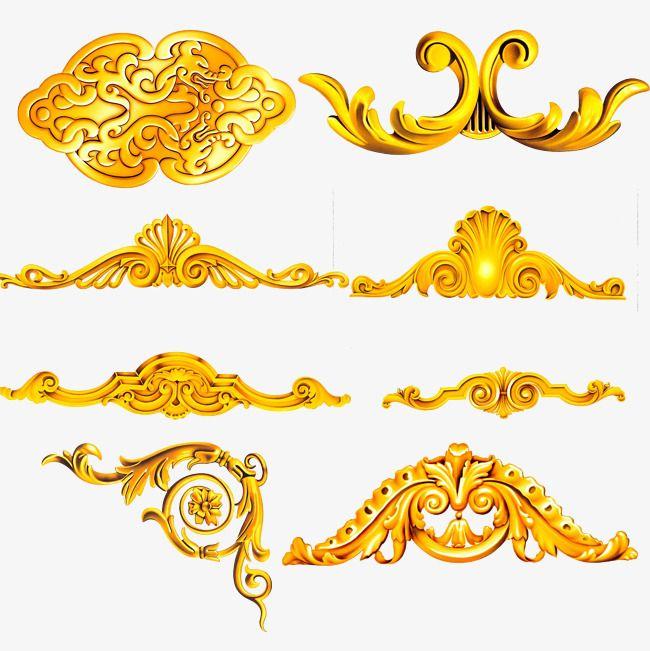 European Gold Lace Pattern Gold Lace Lace Pattern Pattern