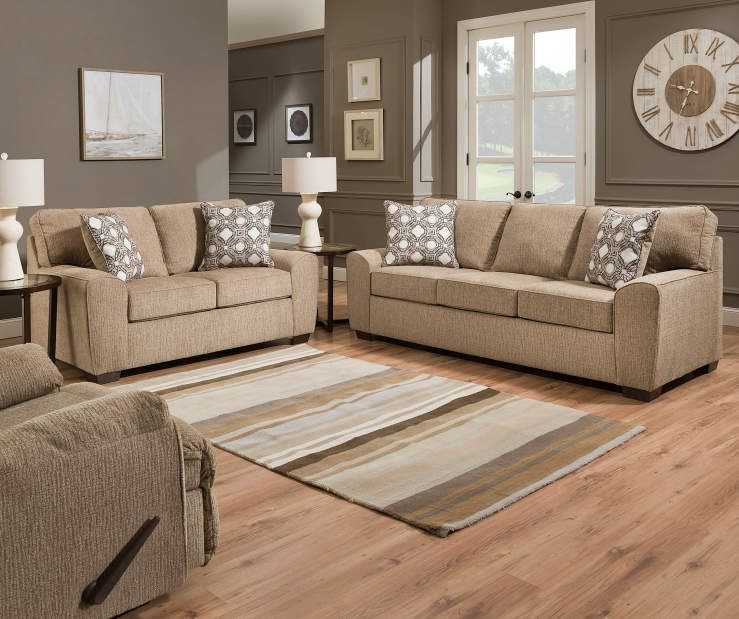 Simmons Redding Tan Living Room Collection At Big Lots Tan Living Room Tan Sofa Living Room Tan Sofa Big lots living room decor