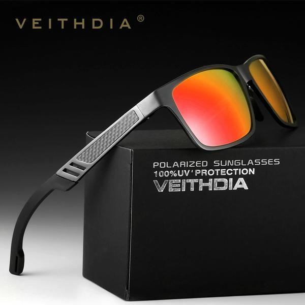 66ea1195fd6 FuzWeb 2017 VEITHDIA Aluminum Sunglasses Polarized Lens Men Mirror Male  Eyewears Accessories Oculos de grau 6560