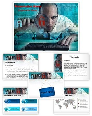 hacking powerpoint template is one of the best powerpoint templates