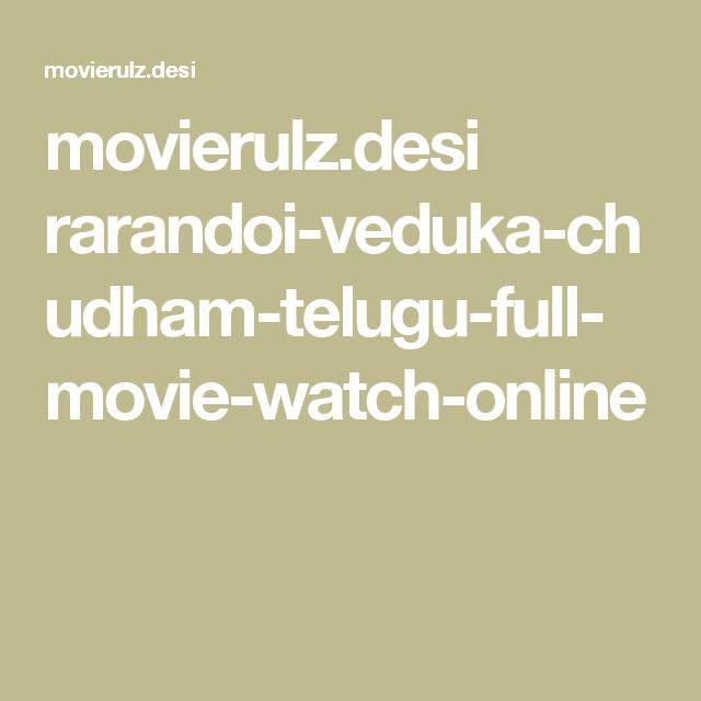 rangasthalam movie online movierulz