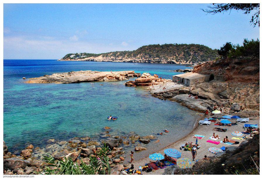 Ibiza, Spain. Cala Carbo