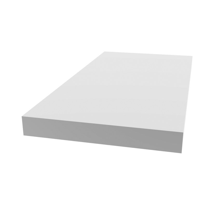 Evertrue Common 1 4 In X 1 1 2 In X 8 Ft Actual 0 25 In X 1 5468 In X 8 Ft White Pvc Square Lattice Divider Lowes Com Square Lattice Lattice White Vinyl