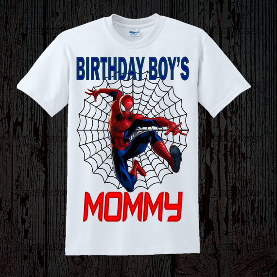 b680f94f Spiderman Birthday Mom Shirt by FashionistaStylez on Etsy | Crafts ...