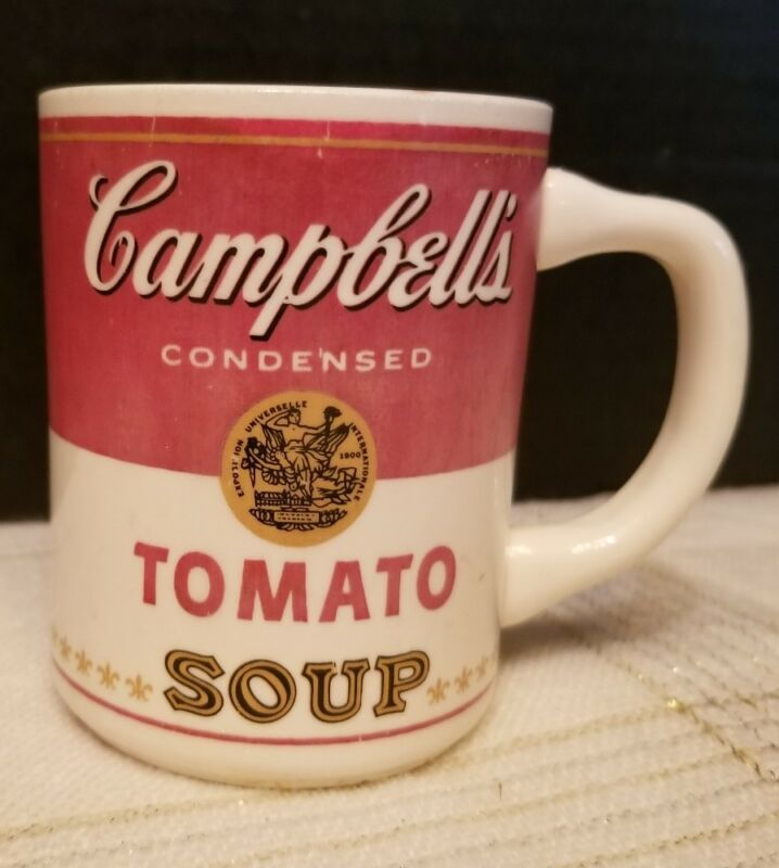 Vintage Campbell's Tomato Soup Can Label Pattern Vintage