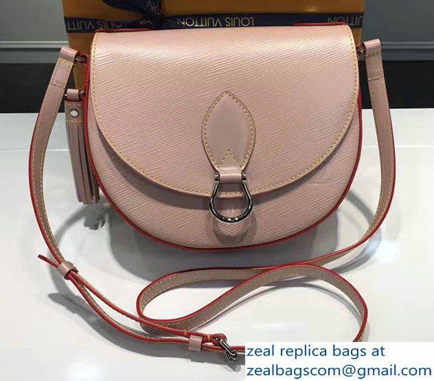 Louis Vuitton Epi Leather Saint Cloud Handbag M54155 Rose 2017 ... f7e84d184b1
