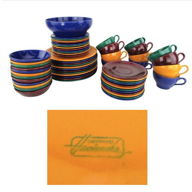 1950\u0027s dinnerware marked \ Hacienda California\  on ...  sc 1 st  Pinterest & Laurel of California. 1950\u0027s dinnerware marked \