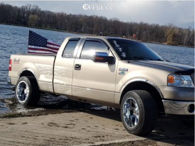 2006 Ford F 150 20x12 44mm Karma Offroad K23 In 2020 Ford F150 Ford Offroad