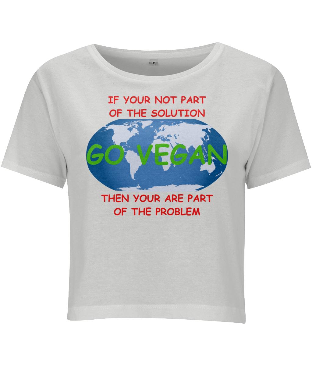 f18db177fb089 Eco Friendly Women s vegan crop top t-shirts. Google Search