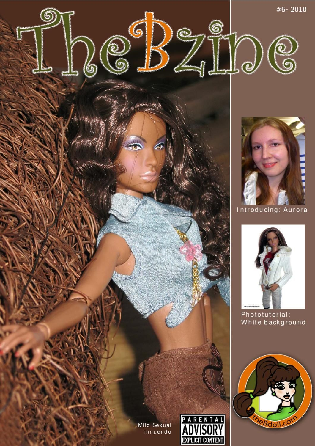 Barbie collector's magazine of an unofficial Barbie fan club. This publication is not associated with Mattel.