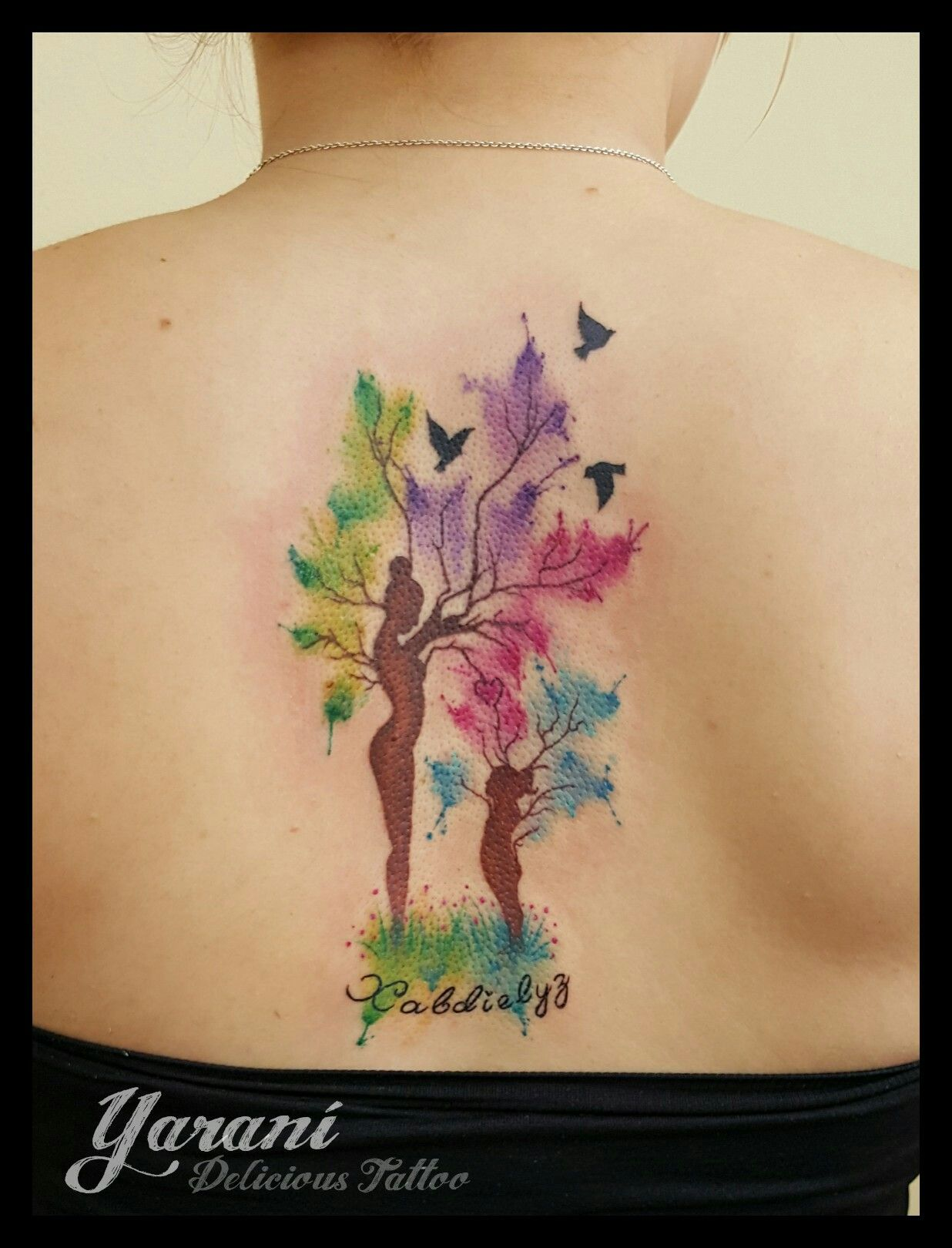 Madre e hija tattoo tatuajes en delicious tattoo for Pinterest tattoo ideas