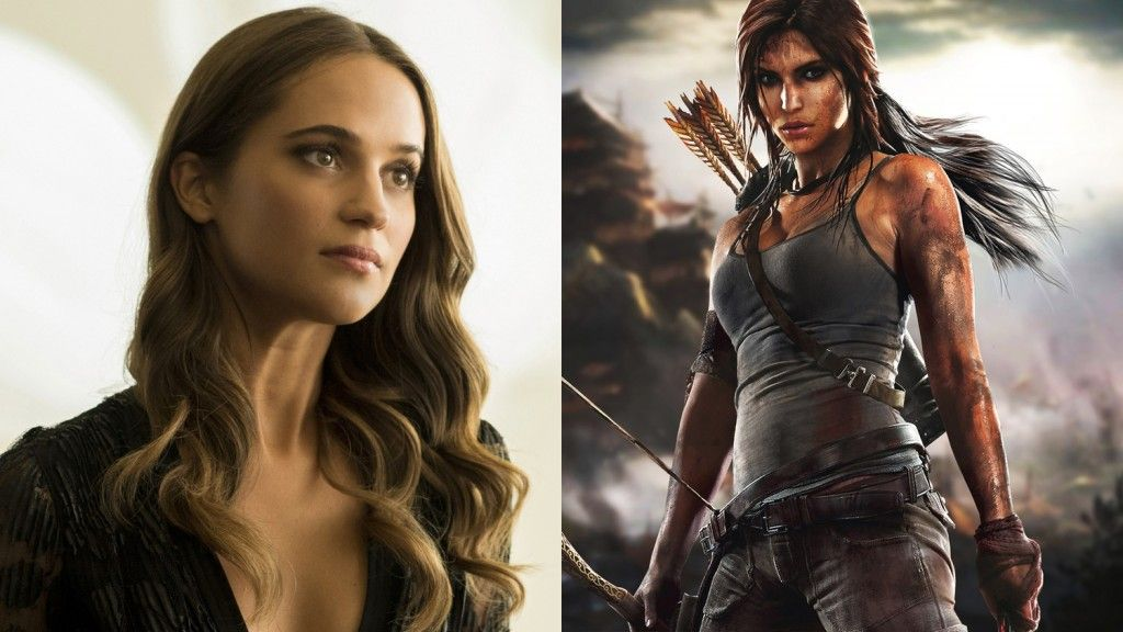 M A A C Alicia Vikander Cast As Lara Croft In Tomb Raider
