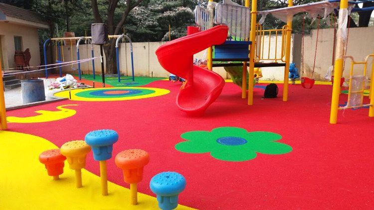 Children Playground Rubber Flooring