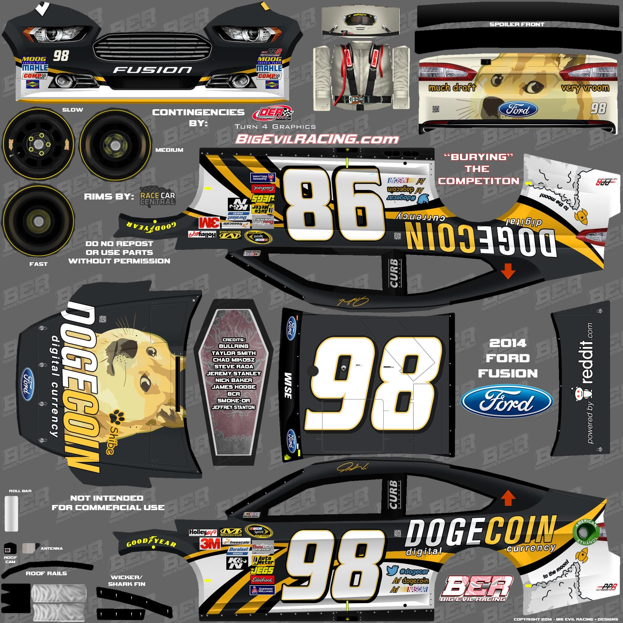 NASCAR 2016 Templates | Enjoy! Do with it what you will