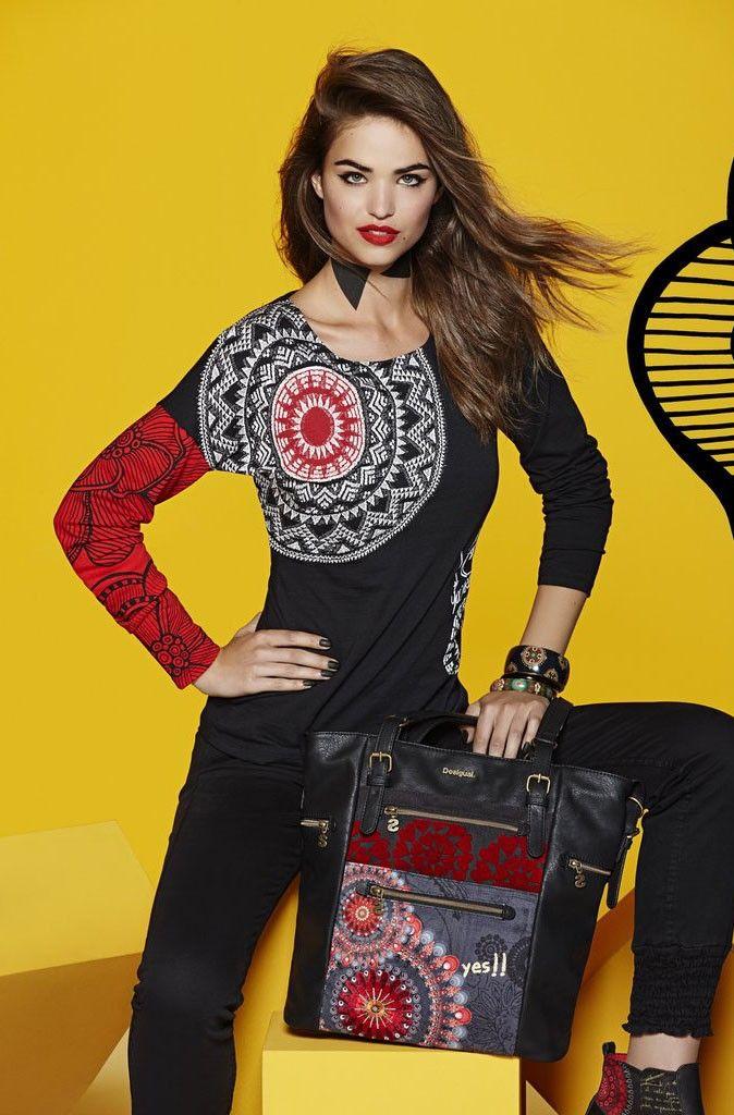 3ccf63b37 Pin de Mymalena Style en WE LOVE DESIGUAL | Camisetas, Camisetas ...