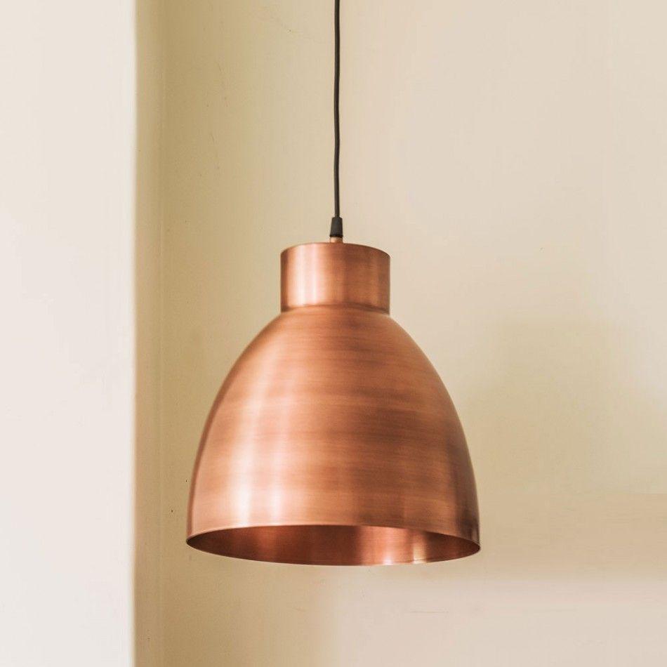 Portland industrial copper lights graham green homedecor