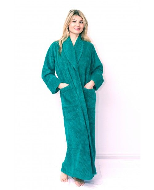 Full length 100% Soft Cotton Chenille Bathrobe. Ideal to dry off ...