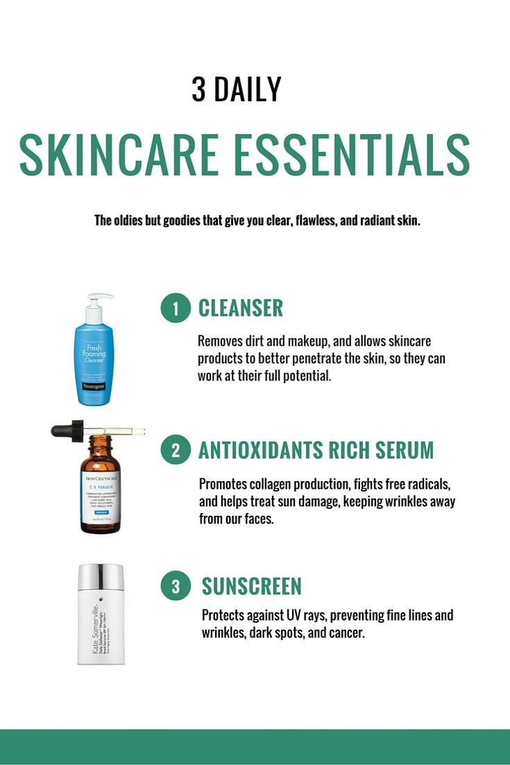 The 3 Essential Daily Skincare Products Everyone Should Use Daily Skin Care Skin Care Routine Skin Care Essentials