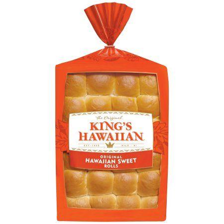 King S Hawaiian Rolls Original Hawaiian Sweet Dinner Rolls 24 Count Bag Walmart Com In 2020 Sweet Dinner Rolls Hawaiian Sweet Rolls King Hawaiian Rolls