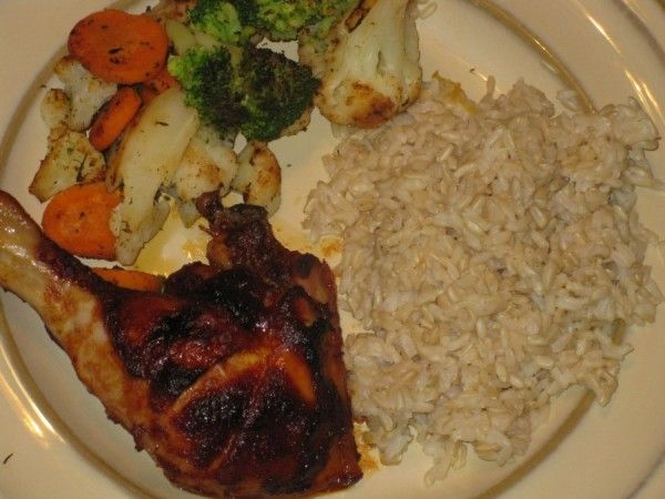 Oven Barbecued Chicken Recipe Whole Food Recipes Oven Barbecue Chicken Healthy Cooking