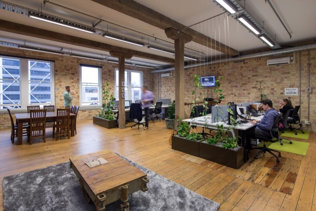 This Is Our Boiler Room A Shared Office Space For Creatives And Entrepreneurs Shared Office Space Coworking Shared Office
