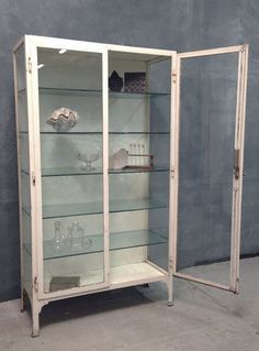 Charmant Metal Furniture, Antique Furniture, Furniture Ideas, Antique Display  Cabinets, Glass Display Cabinets, Medical Cabinets, Bathroom Cabinets, Vintage  Metal, ...