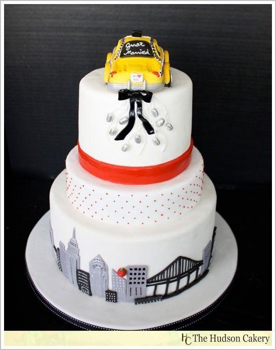 New York themed wedding : wedding NY Cake | Cakes, tortas ...