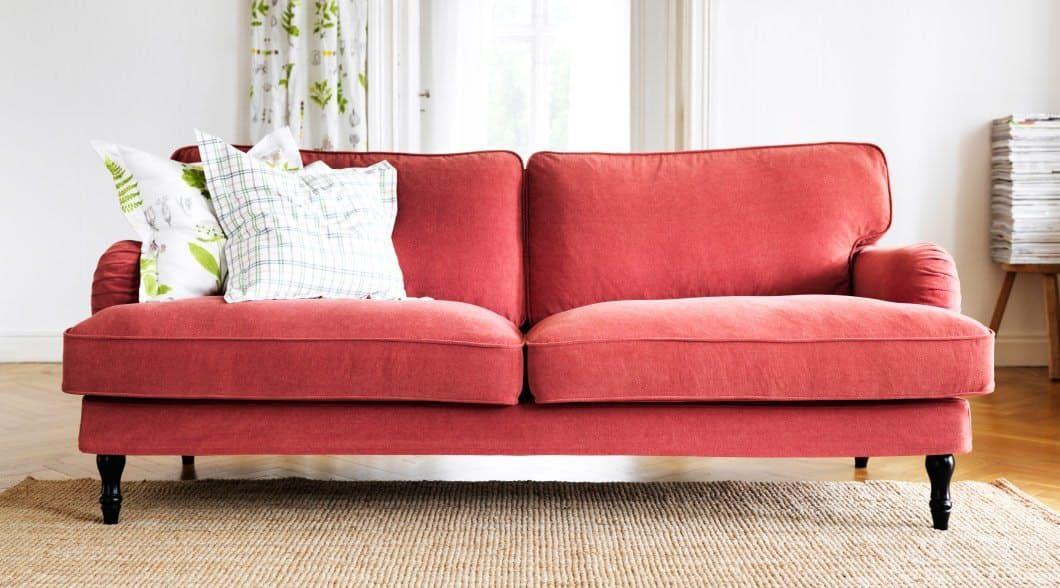 Rode Kussens Ikea : Velvet sofas at every price point pinterest