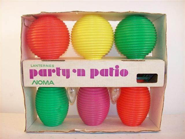 Retro Patio Lanterns