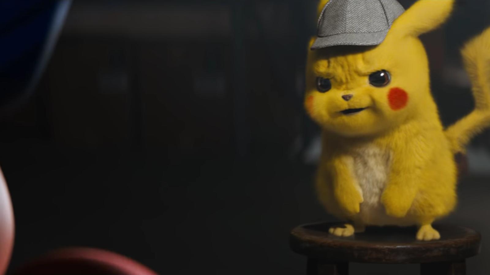 Gruff Looking Detective Pikachu Cute Pikachu Pikachu Art Pikachu