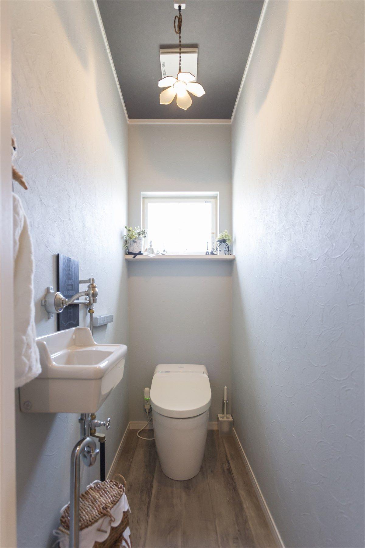 トイレ ジャストの家 トイレ インテリア トイレ 壁紙 おしゃれ