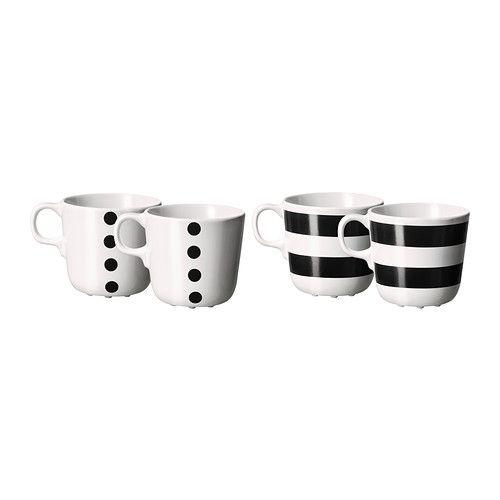 Ikea Ungdom Mug 4 Pack 4 99 Casa Needs Mugs Ikea