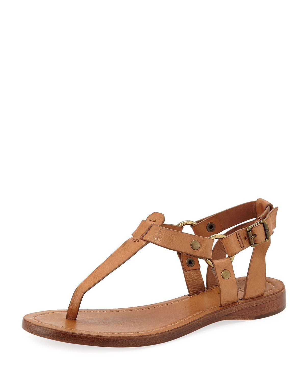 c8715b23d87 FRYE RACHEL T-STRAP LEATHER SANDALS.  frye  shoes