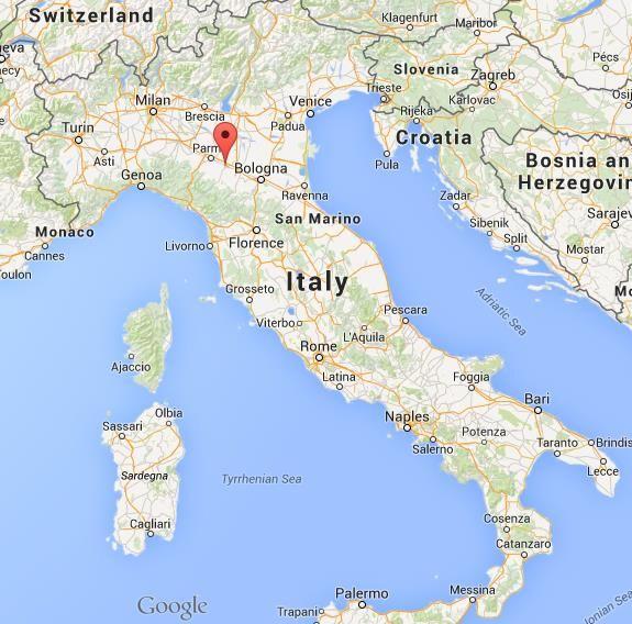 WhereisReggioEmiliaonmapofItaly Reggio Study Tour