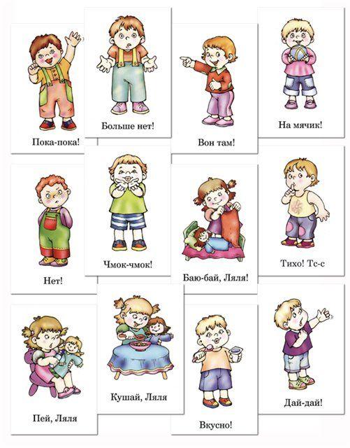 Сюжетные картинки для детей Жесты | Дошкольные учебные ...