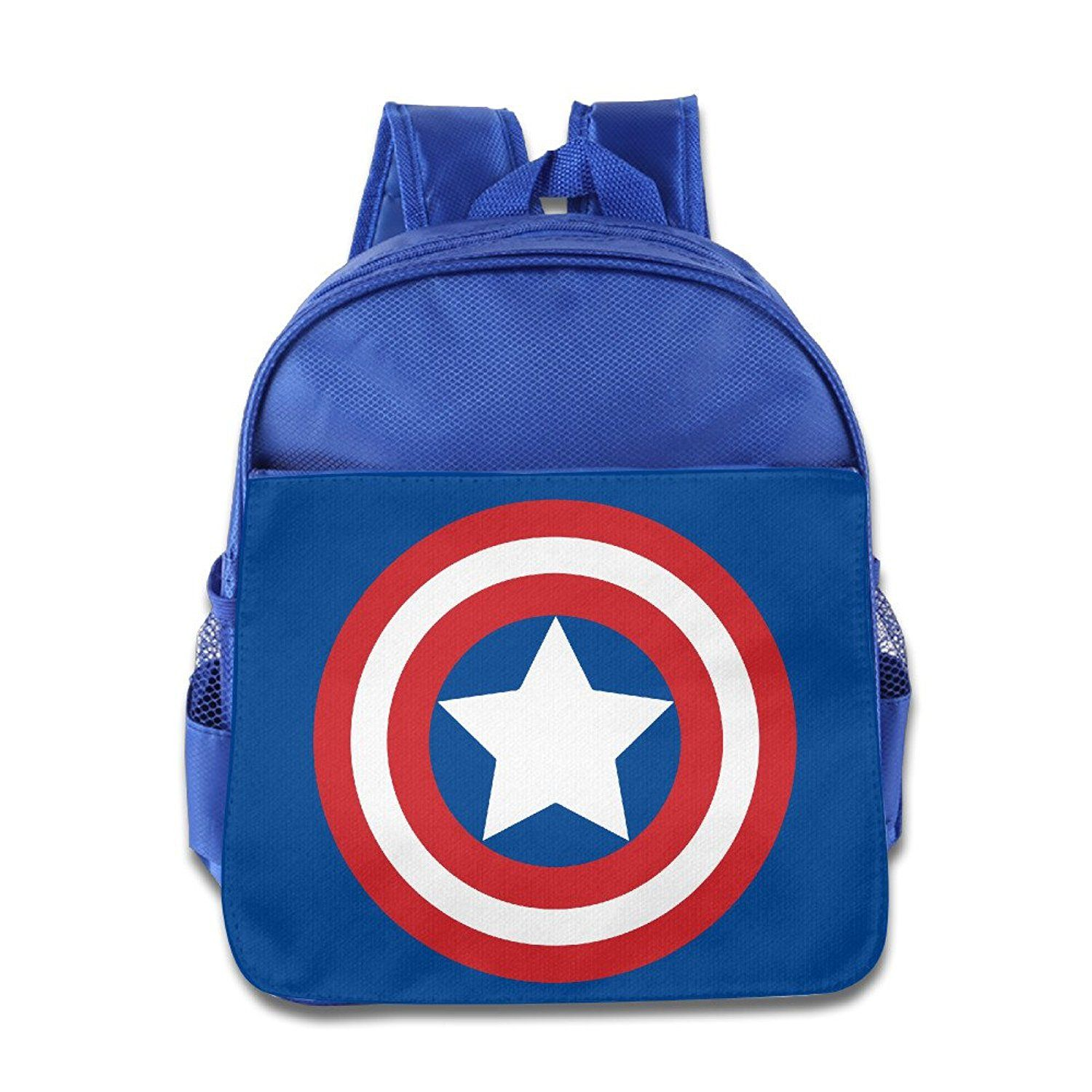 c7f698c29a Boys Girls Toddler Captain America Shield Backpack School Bag   You can  find more details by visiting the image link.