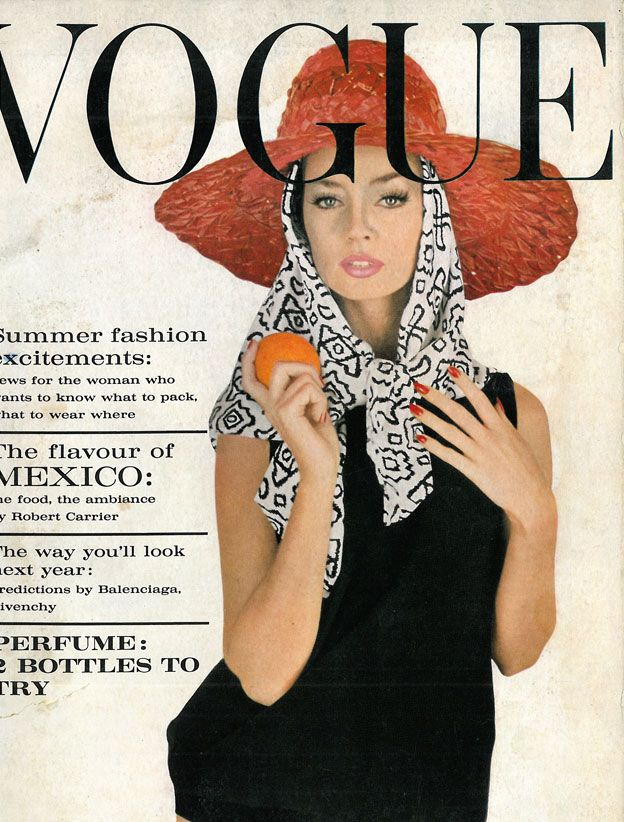 May 1962  Vintage me :)  Vogue my birth year and month.