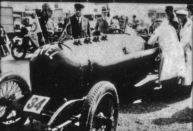 Hoffmann  Collection . Opel racing car. Date unknown.